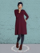 Kleid DU-Karins-Stripes von Du Milde in RotBlau