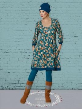Kleid DU-Fab-Dolly von Du Milde in Blau