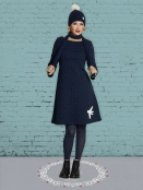Kleid DU-Fly-Barbara von Du Milde in Blau