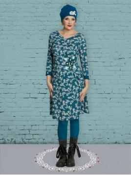 Kleid Precious Poula von Du Milde in Gruen