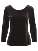Langarm T-Shirt Nitt 30303827 von Part-Two in Black