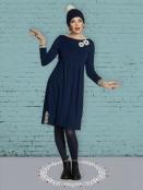 Kleid DU-Scrupulous-Almina von Du Milde in Blau