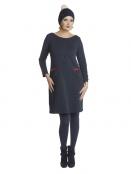 Kleid Lovable Karin von Du Milde in RotBlau