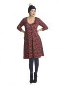 Kleid Dolly Doo von Du Milde in Rot
