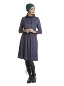 Kleid Almina Powergirl von Du Milde in Lila