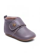 Kinderhausschuhe Velcro Star von Bisgaard Sko in Grey