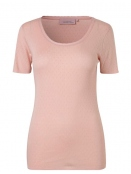 Kurzarm T-Shirt 1-6287-10 von Noa Noa in rose dust