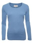 Langarm-Shirt von Sorgenfri Sylt in sweden blue