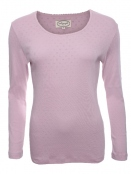 Langarm-Shirt Malin von Sorgenfri Sylt in rose