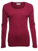 Langarm-Shirt Malin von Sorgenfri Sylt in cherry