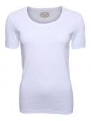 Baumwoll-Shirt Maren von Sorgenfri Sylt in White