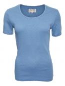Baumwoll-Shirt Maren von Sorgenfri Sylt in Sweden blue
