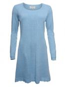 Strickkleid Agata von Sorgenfri Sylt in light blue
