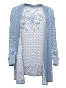 Strickjacke Fredoline von Sorgenfri Sylt in sweden blue
