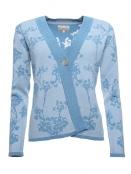 Strickjacke Sybille von Sorgenfri Sylt in sweden blue