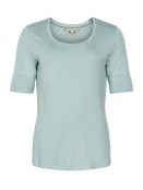 Kurzarm T-Shirt Kasa von Part-Two in CloudBlue