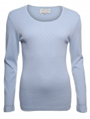 Langarm-Shirt Malin von Sorgenfri Sylt in light blue