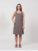 Kleid Kravatt von Olars Ulla in Grey