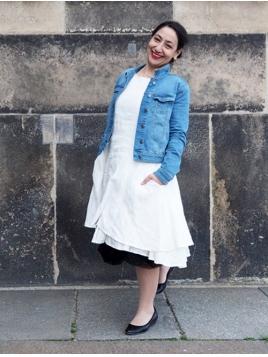 Kleid Krona von Olars Ulla in White