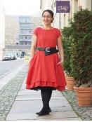 Kleid Krona von Olars Ulla in Red