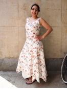 Kleid Kellos von Olars Ulla in FlowerRed