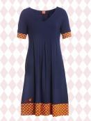 Kleid Almina Daxl von Du Milde in Blau