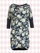 Kleid Mettes Vintagedress von Du Milde in Blau