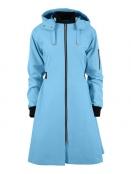 Citycoat Chicago von Blaest Rainwear in Hellblau