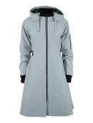 Citycoat Chicago von Blaest Rainwear in Lichtgrau