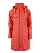 Citycoat Porto von Blaest Rainwear in Koralle