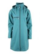 Citycoat Porto von Blaest Rainwear in Meergrün