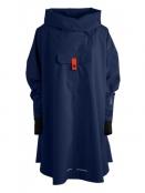 Poncho Bergen von Blaest Rainwear in Navy