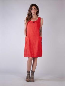 Kleid Kravatt von Olars Ulla in Red
