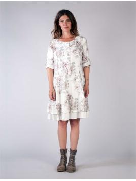Kleid Kratta von Olars Ulla in FlowerWhit