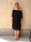 Kleid von Saint Tropez in Black
