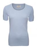 Baumwoll-Shirt Maren von Sorgenfri Sylt in Light blue