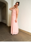 Kleid von Saint Tropez in Rose
