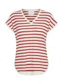 Kurzarm T-Shirt von Part-Two in Red