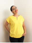 Kurzarm T-Shirt Kedita von Part-Two in PrimroseYe