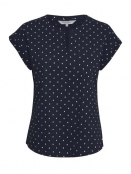 Kurzarm T-Shirt Kedita von Part-Two in Navy