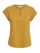 Kurzarm T-Shirt Kedita von Part-Two in Yellow