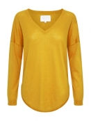 Pullover Saphira von Part-Two in Yellow