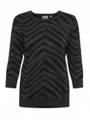 Pullover von Saint Tropez in Black