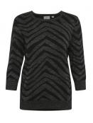 Pullover von Saint Tropez in Black