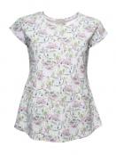 Shirt Linja von Sorgenfri Sylt in Ivory