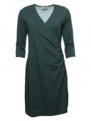 Kleid Taina von Sorgenfri Sylt in Bottle green