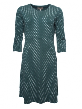 Kleid Tinja von Sorgenfri Sylt in Bottle green
