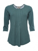 Shirt Ruthy von Sorgenfri Sylt in Bottle green