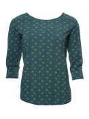 Langarm T-Shirt Mabel von Sorgenfri Sylt in Bottle green