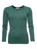 Langarm T-Shirt Sandra von Sorgenfri Sylt in Bottle green